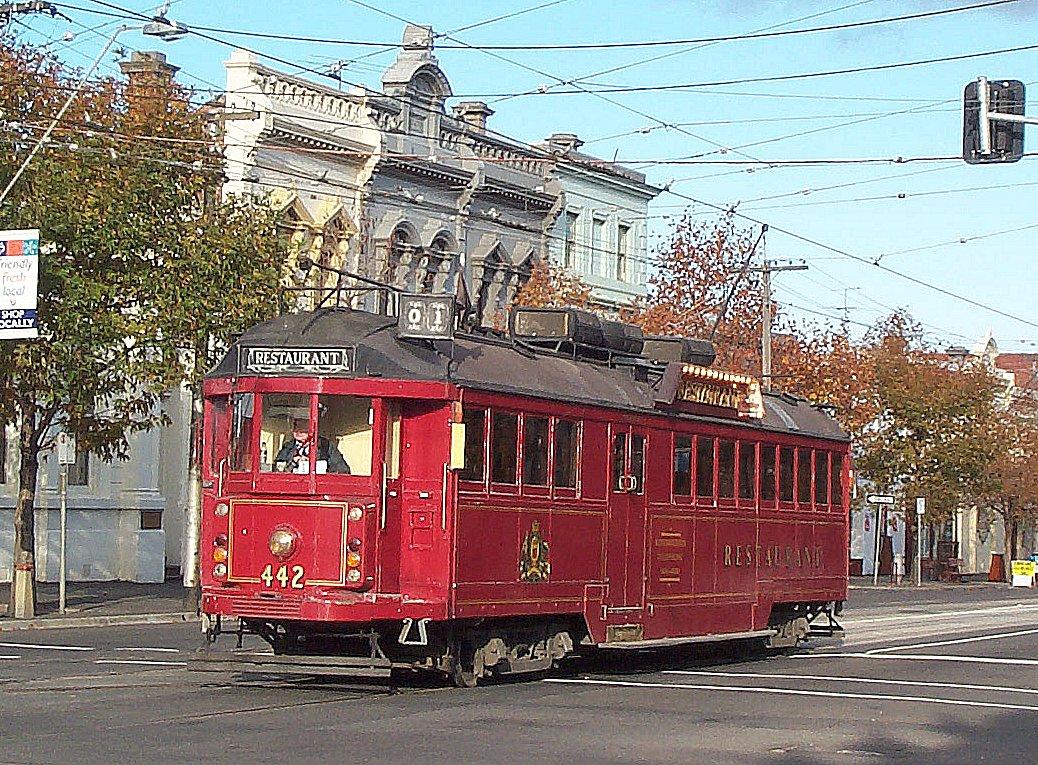 melbourne 39 s restaurant trams. Black Bedroom Furniture Sets. Home Design Ideas